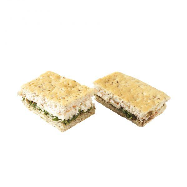 Mini sandwich végétarien