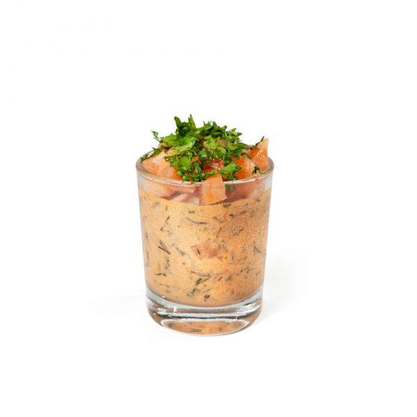Mini verrine homard