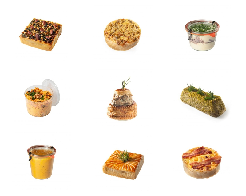Pain de Sucre : une gamme salée pour vos déjeuners et réceptions