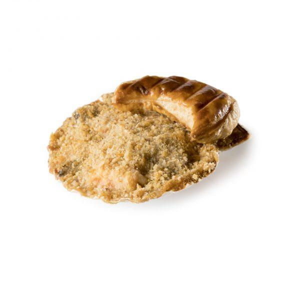 Coquille Saint-Jacques à la bisque de homard